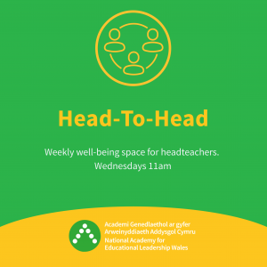 Head to head event poster
