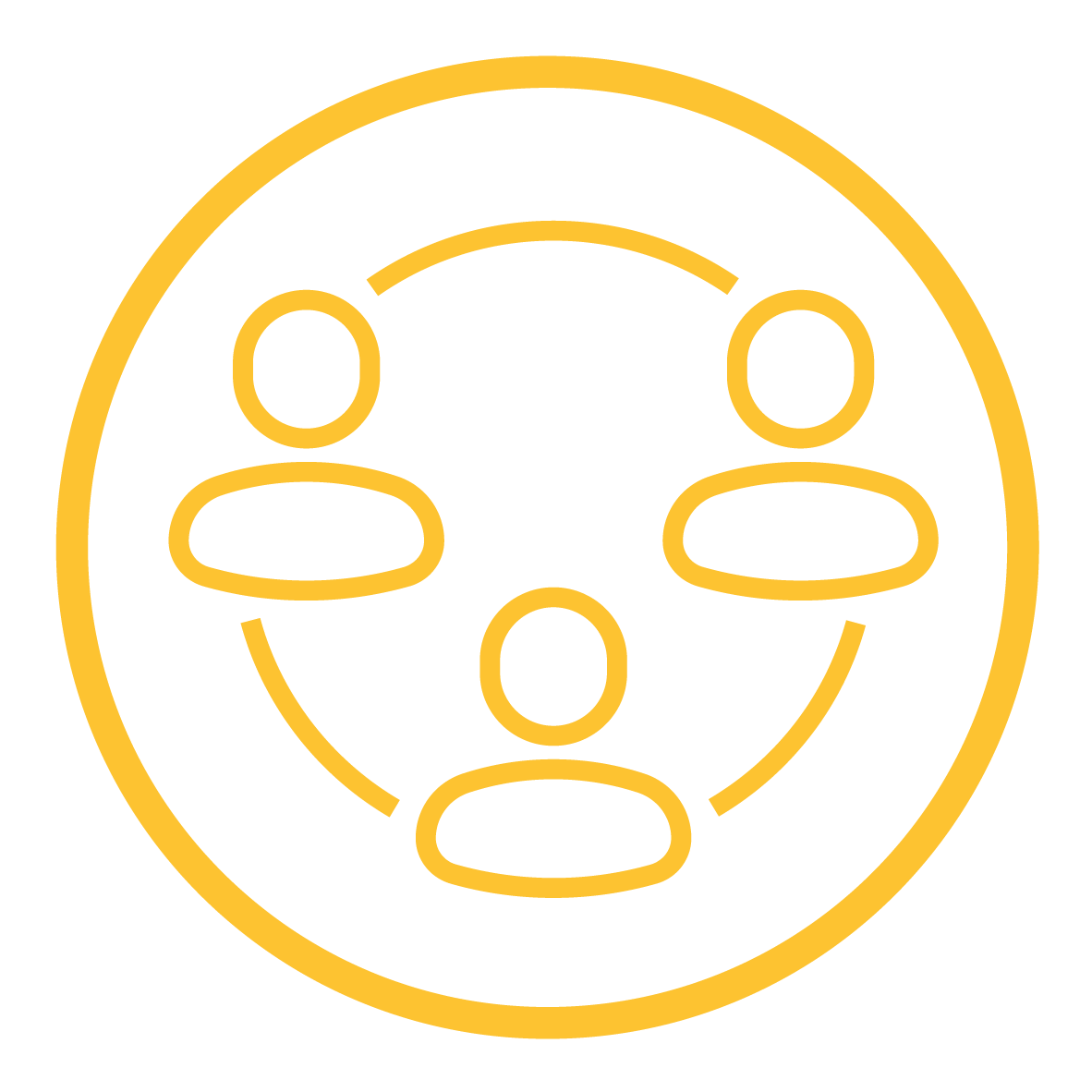 Wellbeing Yellow Icon