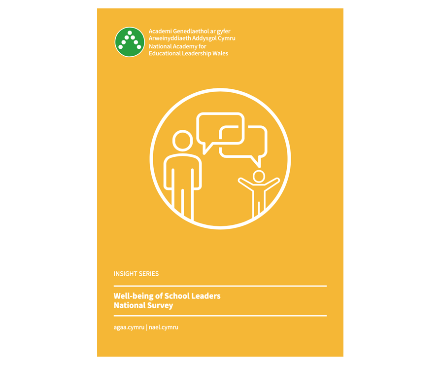 Well-being of school leaders national survey cover